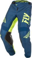 Pantalon cross Fly Racing 2019 Kinetic Shield - Bleu Jaune Fluo