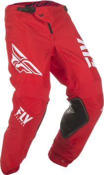 Pantalon cross Fly Racing 2019 Kinetic Shield - Rouge Blanc