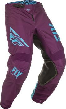 Pantalon cross Fly Racing 2019 Kinetic Shield - Violet Bleu