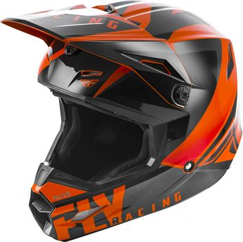 Casque cross enfant Fly Racing 2019 Elite Vigilant - Orange Noir