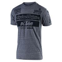 T-Shirt Troy Lee Designs KTM Team Vintage 2019 - Gris