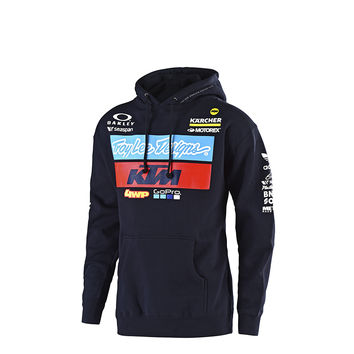Sweat Shirt Enfant Troy Lee Designs KTM Team 2019 - Bleu