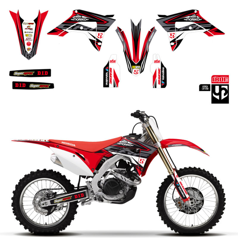 2017 2018 2019 Honda Reviews: Kit Deco UP IRON HONDA 250 CRF-R 2018-2019 450 CRF-R 2017