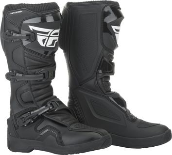 Bottes cross Fly Racing Maverik - Noir
