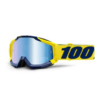 Masque cross 100% 2019 Accuri Supply - Ecran Iridium Bleu