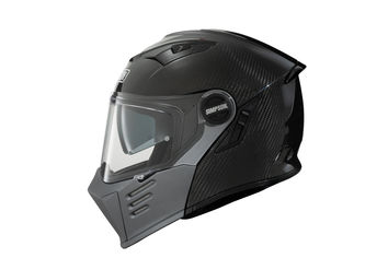 Casque modulable route Simpson Darksome Carbon - Noir