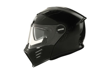 Casque modulable route Simpson Darksome Solid - Noir