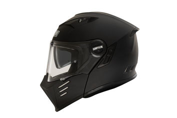 Casque modulable route Simpson Darksome Solid - Noir Mat