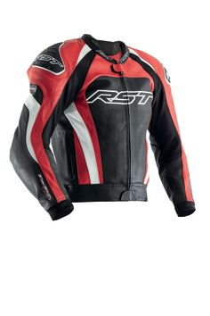 Veste cuir RST Tractech Evo 3 - Rouge
