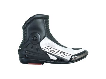 Bottes moto courtes racing RST Tractech Evo III - Blanc