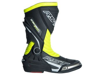 Bottes moto racing RST Tractech Evo 3 SP - Jaune Fluo