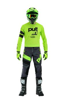 Tenue cross Pull-In by Kenny 2020 Challenger Race - Gris Lime