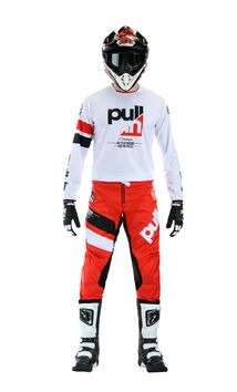 Tenue cross Pull-In by Kenny 2020 Challenger Race - Rouge Blanc