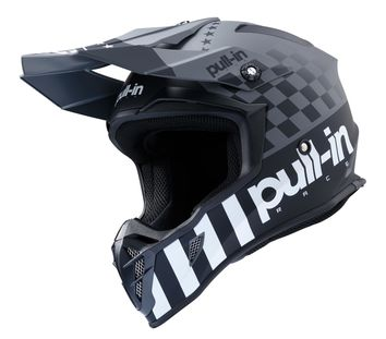 Casque cross Pull-In by Kenny 2020 Master - Gris Noir