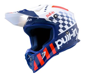 Casque cross Pull-In by Kenny 2020 Master - Bleu