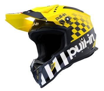 Casque cross Pull-In by Kenny 2020 Master - Jaune