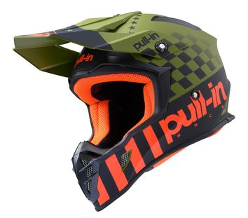 Casque cross Pull-In by Kenny 2020 Master - Kaki