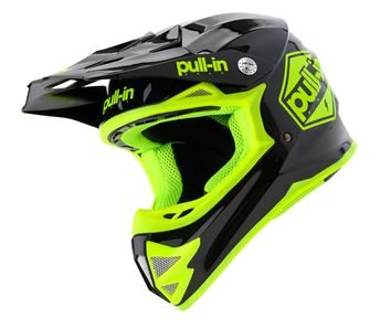 Casque cross enfant Pull-In by Kenny 2020 Solid - Noir Jaune Fluo