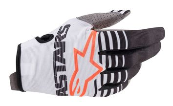 Gants cross Alpinestars 2020 Radar - Blanc Noir