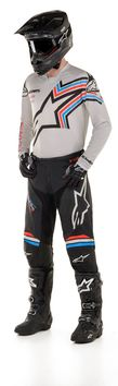 Tenue cross 2020 Alpinestars Racer Braap - Gris Noir