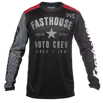 Maillot cross Fasthouse 2020 Phantom - Noir