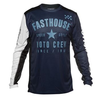 Maillot cross Fasthouse 2020 Phantom - Bleu