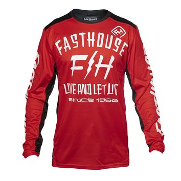 Maillot cross Fasthouse 2020 Dickson - Rouge