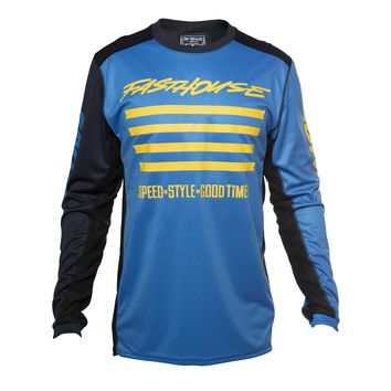 Maillot cross Fasthouse 2020 Slash - Bleu