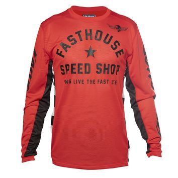 Maillot cross Fasthouse 2020 Originals Air Cooled - Rouge