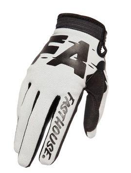 Gants cross Fasthouse 2020 Speedstyle Turbo - Argent