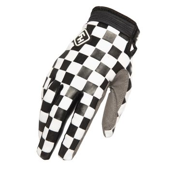 Gants cross Fasthouse 2020 Speedstyle Checkers - Noir