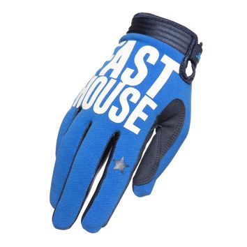 Gants cross enfant Fasthouse 2020 Speedstyle Blockhouse - Bleu