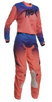 Tenue cross Femme 2020 Thor Pulse Fader - Corail