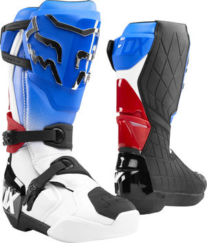 Bottes cross Fox 2020 Comp R - Bleu Rouge