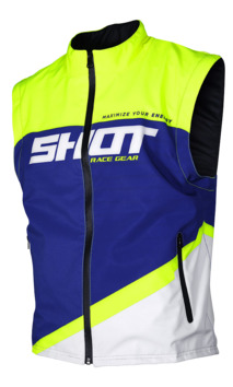 Body warmer Shot 2020 Lite - Bleu Jaune Fluo