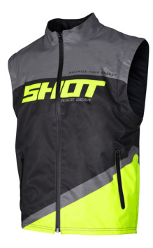 Body warmer Shot 2020 Lite - Gris Jaune Fluo