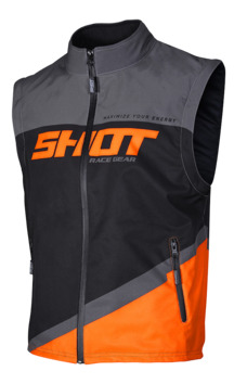 Body warmer Shot 2020 Lite - Gris Orange Fluo S