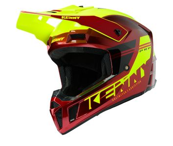 Casque cross Kenny 2020 Performance Solid - Rouge Candy