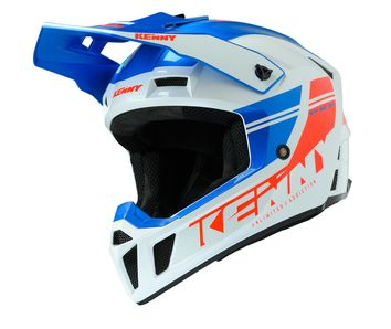 Casque cross Kenny 2020 Performance Solid - Bleu Blanc Rouge