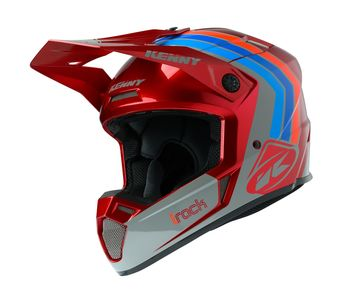 Casque cross Kenny 2020 Track Victory - Rouge Burgundy