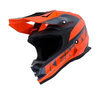Casque cross enfant Kenny Track Focus - Orange Fluo