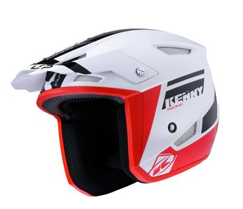 Casque Kenny Trial Up - Noir Rouge