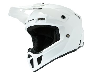 Casque cross Kenny 2020 Performance Solid - Blanc Perle