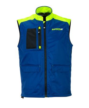 Body Warmer Kenny 2020 - Bleu Jaune Fluo
