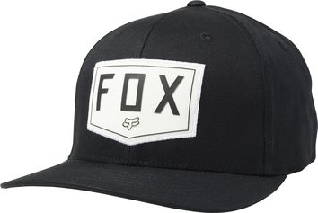 Casquette Fox Shield Flexfit - Noir