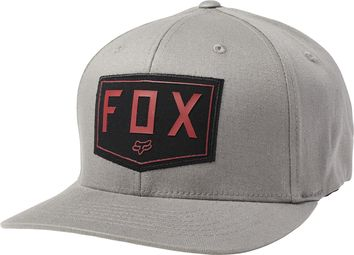 Casquette Fox Shield Flexfit - Gris
