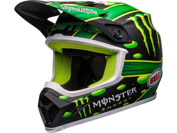 Casque cross Bell MX-9 Mips McGrath Showtime - Noir Vert Mat