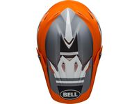 Casque cross Bell Moto-9 Mips Prophecy - Orange Noir Gris