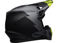 Casque cross Bell MX-9 Mips Strike - Gris Noir Jaune Fluo