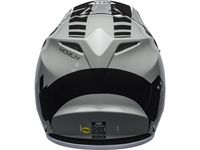 Casque cross Bell MX-9 Mips Dash - Gris Noir Blanc